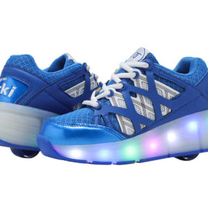 sports shoe with light